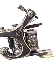 FTTATTOO® CNC Precise Carving Bronze Tattoo Machine Gun