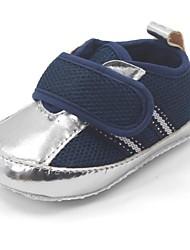 Zapatos de bebé - Sneakers a la Moda - Casual - Sintético / Algodón - Azul