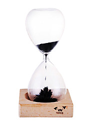"7.3 ""H Creativa Glass Sand Timer"