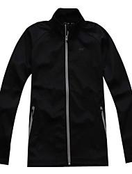 Men's Long Sleeve Regular Coat , Polyester Pure