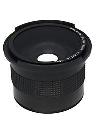 0.35x 52mm Супер Рыбий глаз Широкоугольный объектив для 52 мм Nikon D7000 D7100 D5200 D5100 D5000 D3100 D3000 D90 D40 D60