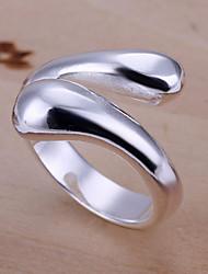 r&d anello aperto argentato