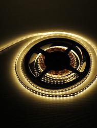z®zdm 5m 48W 600x3528smd caldo della lampada luce bianca ha condotto la striscia (12V DC)