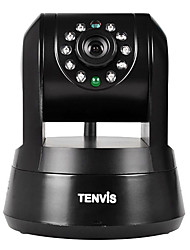 Tenvis IP Robot3 Black Wireless IP Camera 720P Dual Audio Night Vision With TF Card Slot Free APP.