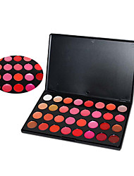 32-Color Lipstick Tinted Lip Gloss Makeup Palette