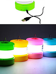 ABS USB Night Light LED (cores sortidas)