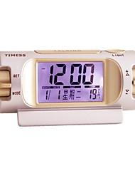 Timess ™ Calendário Termômetro Falar Digital LED Alarm Clock