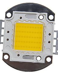 zdm ™ 50w haute puissance 4000-5000lm lumière blanche chaude diy intégré conduit module (32-35v)