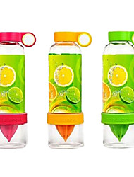 The Portable Dynamic Bottle Water Glass Juice Cup(Random Color)