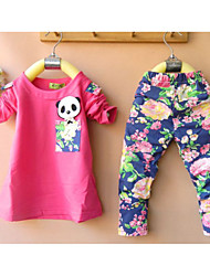 Girl's Lycra Clothing Set , Winter Long Sleeve