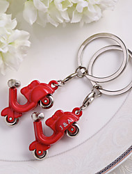 Personalized Super Pull Style Motorcycle keychain - Set of 4 (More Colors)