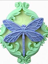Бабочка Shaped Выпекать Плесень, W6.8cm х L6.5cm х H2.8cm