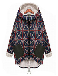 Women's Coats & Jackets , Cotton Casual huimeiyi