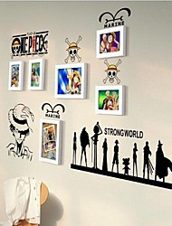 Photo Frame Collection Set of 6 with Wall Sticker
