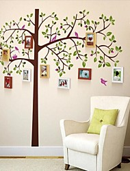 3 colori Photo Frame Set di 10 con Wall Sticker