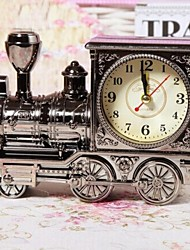 Fashion Retro Personality Reminiscence Locomotive Model Alarm Clock (Random Color)