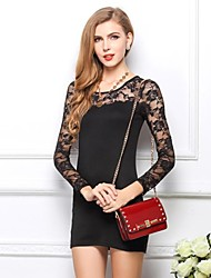 Sexy Casual Cotton Lace Dress SML XL XXL XXXL Ladie