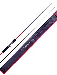 Fish Hunter - 1.83M 2 Abschnitte M Fast-Carbon-Lure Fishing Rod Rod Casting