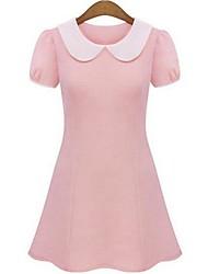Women's Summer Noble Sweet Doll Brought Slim Mini Dress