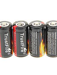 TrustFire 880mAh 16340 аккумуляторная батарея с Перегрузка защиты (4шт)