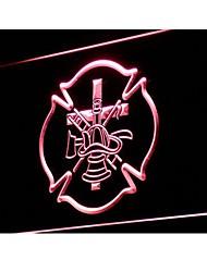 i899 fuego del bombero Casco Luz Neon AXE Ladder Entrar