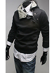 nono  Rabbit Fur Collar Cotton Fleece Hoodie