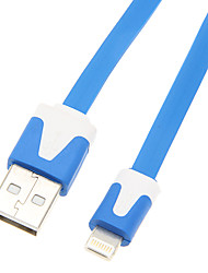 USB 2.0 Male to 8pin Male Cable(Blue Purple 100cm)