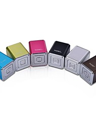 NiZHi Mini Speaker Rádio FM Digital Cube (MicroSD Reader, USB, rádio FM, cores sortidas entrega aleatória)