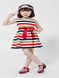 Mangas Stripe Vestido BASDIO Kids '