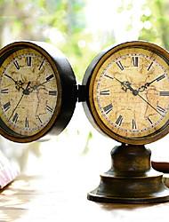 """9.1 """"H creativa e Retro ferro Desk Clock"""