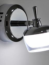 Luces de pared, 1 luz, elegante Crystal Artístico Acero inoxidable Recubrimiento MS-86327