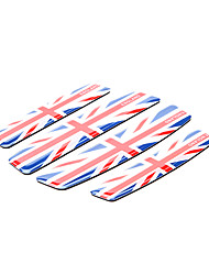 Simple Union Jack modello auto Door Guard Riva Protector Trim Sticker (4 pc Kit)