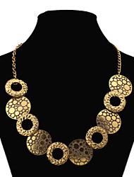 czhb женская старинные европейский стиль негабаритных ожерелье XL-320
