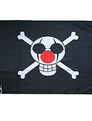 One Piece The Clown Bucky (Buggy)Cosplay Flag