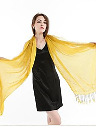 Женская Ближний Восток Стиль двойной шелковый атлас особых поводов Шаль / Wrap (больше цветов)