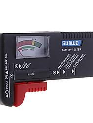 ZW-168 1.2V/1.5V/9V Mini Nivel de energía análoga Probador de la batería