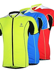 Arsuxeo  Cycling Jersey Short Sleeves Breathable Quick Drying Clothing