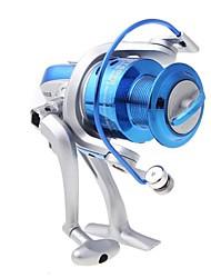 8BB roulements à billes gauche / droite interchangeable Poignée pliable moulinet spinning ST6000 5.1:1 (0.6mm/100m)
