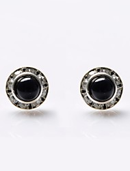 Earring Stud Earrings Jewelry Women Wedding / Party / Daily / Casual / Sports Pearl / Crystal / Rhinestone 2pcs