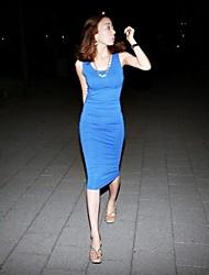 Männer Slim Paket-Hüfte-Kleid