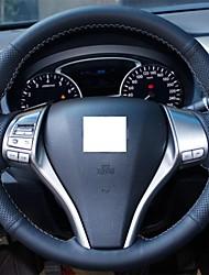 Натуральная кожа Xuji ™ Черный Руль Обложка для 2014 Nissan Qashqai X-Trail 2013 Teana Altima Разбойник
