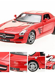 1/24 DIE-CAST Mercedes Benz Licensed Alloy RTR RC Car with LED Lights