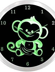 nc0911 singe enseigne au néon Horloge murale LED