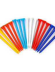 TTYGJ Golf 20 Pcs Colorful Tee (Random Color)
