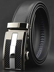 automatique boucle entreprise ceinture en cuir des hommes