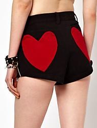 Women's Black Shorts Pants , Sexy/Casual/Cute/Plus Sizes