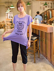 Long Maternity T Shirt and Breast Feeding Clothes for Pregnant Women Nurse Top