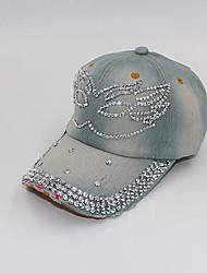 EaSan Diamonade Jeans sombrero de béisbol (pantalla a color)-YWBZ039