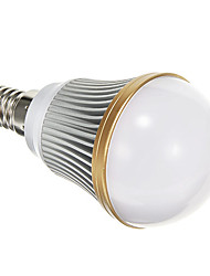 E14 5 W SMD 5730 400 LM Warm White Globe Bulbs AC 85-265 V