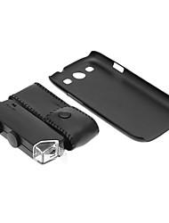 Samsung N9300 Cell Phone Case e 100 volte lente di ingrandimento in Set